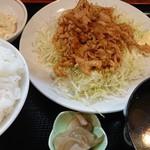 中華 シゲ - 生姜焼き定食
