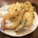 110996500 - 夏の天ぷら盛り合わせ