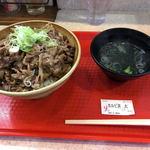韓流めし屋 龍龍食堂 - 料理写真:牛カルビ丼(大)