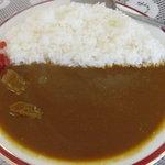 喜久屋カレー店 - ビーフカレー中 450円