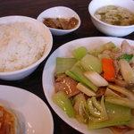 蘭華 - 五目炒め定食