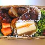 三帰天海の玄米精進料理 - 「玄米精進弁当」1250円