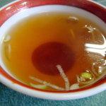 山海亭 - スープはまあ普通