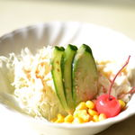 珈琲館京和 - セットのサラダ
