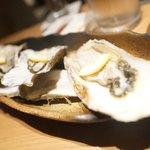 札幌つけしゃぶ 別邸 - 生牡蠣