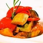 バルエルバルコ - 野菜のトマト煮