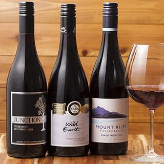 ワインも全てニュージーランド産◎自慢の逸品とともにご堪能あれ