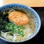 藤村製麺所 - 料理写真:コロッケうどん(かけうどん+コロッケ)