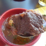 ブラッセリー マセナ - お肉のアップ