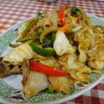 奥快餐 - 回鍋肉(肉と野菜のみそ炒め)