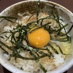 激辛タンタンメンの拉麺帝王 - TKGセット 350円(税込) #2019.07