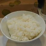 ラーメン 府中家 - 料理写真:ラーメン・ライスセット750円のライス