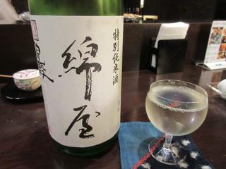 旬彩酒房 一の木 - 特別純米酒 綿屋