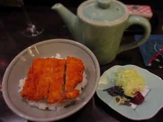 旬彩酒房 一の木 - ミニとんかつ茶漬け
