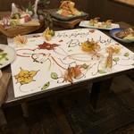 ももじろう市場 - 料理写真:地域初のテーブルアート!!