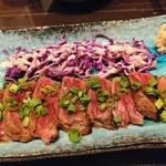 日本酒×和創作料理 香酒 鞘 - 十勝和牛のタタキ