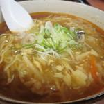 あそう温泉 白帆の湯 水郷の間 - 料理写真:スーラータンメン(650円)