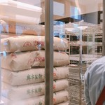 111036217 - 積み上げられた小麦粉