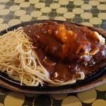 パンプキン - 料理写真:ダイナマイトハンバーグ