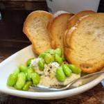RITROVO - 枝豆とゴルゴンゾーラのムース