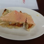 宇都宮みんみん - ちなみに龍門さんのめんたいチーズ餃子はこんな感じ