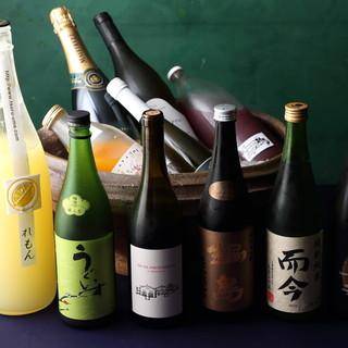 日本・伊・仏を中心に厳選した銘醸ワイン、プレミアムな日本酒