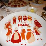 カフェレストラン フィガロ - なんともノスタルジックなお皿