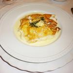 カフェレストラン フィガロ - ハムと野菜のクレープ