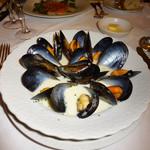カフェレストラン フィガロ - ムール貝のクリーム仕立て