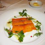 カフェレストラン フィガロ - サーモンのマリネ