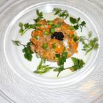 カフェレストラン フィガロ - サーモンと野菜のタルタル