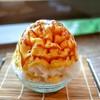 菓子・茶房 チェカ - 料理写真:■プリンかき氷 1000円