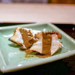 富小路 やま岸 - 料理写真:☆鮑と茄子