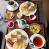 マイゲベック - 料理写真:ミックスサンドとフルーツサンド