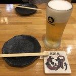 居酒屋 ようすけ - 生ビール 450円