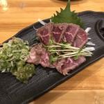居酒屋 ようすけ - ぶどう牛ランプのタタキ 780円