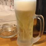 しんたろう - 生ビール