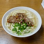 田舎 - [2019/06]ソーキそば(390円)