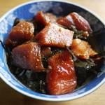 ラーメン河 - マグロ丼