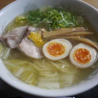 ラーメン河 - 料理写真:塩ラーメン