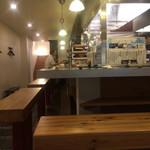 純米酒と藁焼 神楽饗 - 店内 (今回はソファ席でした)