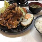 111051385 - リブロース生姜焼き