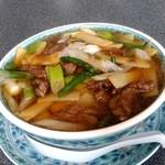 中国料理 你好 - 【2019.7.6(土)】牛肉そば(並盛)972円