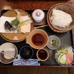 味感 真寿美 - 冷やし素麺定食