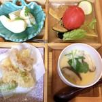 清蔵 - 料理写真:天ぷらも茶碗蒸しも美味しかった♪