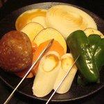 焼肉 いしび - 野菜盛