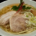 麺舎 ヒゲイヌ - 煮干塩ラーメン(大)up