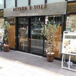 ACQUA E SOLE - 比較的新しいお店