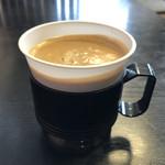 111063275 - セルフのコーヒーを頂いて 食事終了です