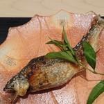 Ginzayoshizawa - 鮎の塩焼き